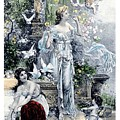 In The Garden 2 by David  Hicks
