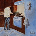 In The Kitchen by Barbara Andolsek