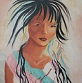 Indian Girl by Suzanne  Marie Leclair