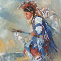 Indian Little Dancer by Bin Feng
