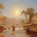 Indian Summer On The Delaware River by Jasper Francis Cropsey