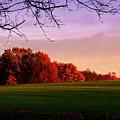 Indiana Sunset by Diane Merkle