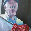 Inis Mor Accordian Player by Kevin McKrell