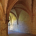 Inside A Monastery Dordogne France  by Dave Mills