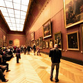 Inside Louvre Museum  by Charuhas Images