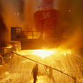 Inside The East-slovakian Steel Mill by James L Stanfield