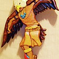 Intarsia Eagle Dancer by Russell Ellingsworth