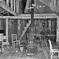 Interior Criterion Hall Saloon - Montana Territory by Daniel Hagerman