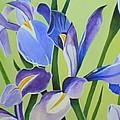 Iris Fields - Center Panel by Helena Tiainen
