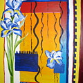 Irises by Carole Johnson