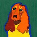 Irish The Red Setter by Ruby Persson
