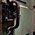 Iron Ic Door Handle by David Kehrli