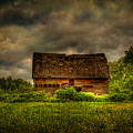 Isolated Barn by Gary Smith