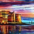 Italy - Liguria by Leonid Afremov