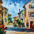 Italy New by Leonid Afremov