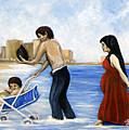 It's Tough In Coney Island by Leonardo Ruggieri