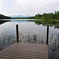 Izzys Pond With Dock by AnnaJanessa PhotoArt