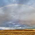 Jackson Hole Rainbow by Sandra Bronstein