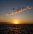 Jamaican Sunset by Gary Wonning