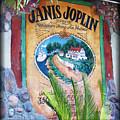 Janis Joplin In Concert Mural by Diane Wood