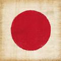Japan Flag by Setsiri Silapasuwanchai