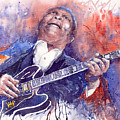 Jazz B B King 05 Red by Yuriy  Shevchuk