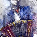 Jazz Concertina Player by Yuriy  Shevchuk
