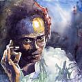 Jazz Miles Davis 11 by Yuriy  Shevchuk