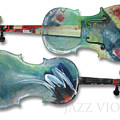 Jazz Violin - Poster by Tim Nyberg
