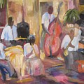 Jazzin by Impressionist FineArtist Tucker Demps Collection