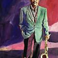 Jazzman Ben Webster by David Lloyd Glover