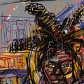 Jean Michel Basquiat by Russell Pierce