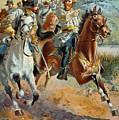 Jeb Stuarts Cavalry 1862 by Granger