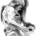 Jeff Beck In Concert by David Lloyd Glover