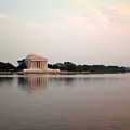 Jefferson Monument Across The Bay by Douglas Barnett