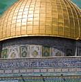 Jerusalem - Dome Of The Rock by Munir Alawi