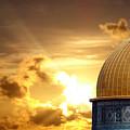 Jerusalem - The Morning Light by Munir Alawi