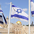 Jerusalem Wailing Wall by Ohad Shahar
