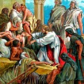 Jesus Healing The Sick by John Lautermilch