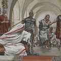 Jesus Led From Herod To Pilate by Tissot