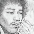 Jimi Hendrix Artwork by Roly Orihuela