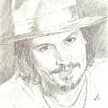 Johnny Depp by Carla  Stroud