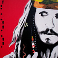 Johnny Depp by Gary Hogben