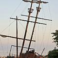 Jordan Harbour Wreck by Art Tilley