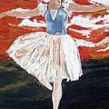 Jordan On Pointe by Paula Stern