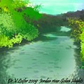 Jordan River.golan Heights by Dr Loifer Vladimir