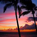 Kaanapali Sunset  Kaanapali  Maui Hawaii by Michael Bessler
