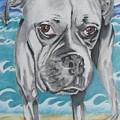 Kailey At The Beach by Michelle Hayden-Marsan