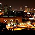 Kansas City Lights by David Dunham