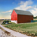 Kansas Landscape II by Steve Karol
